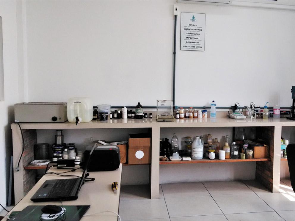 Brazil Lab Inside